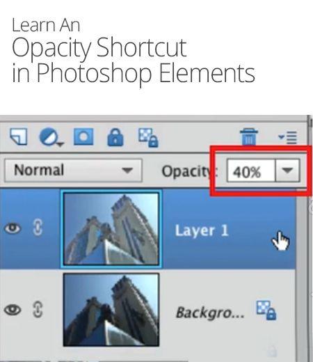 how to make change photoshop opacity