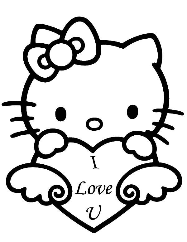 Pin By Milk On Me Heart Coloring Pages Valentines Day Coloring