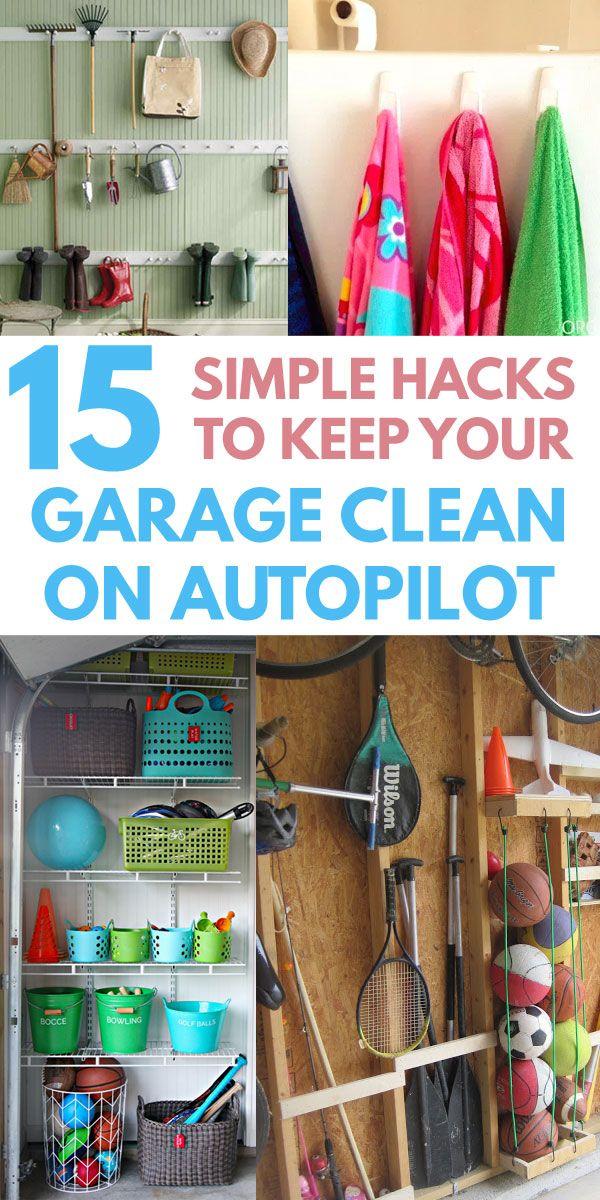 15 Quick Cheap Garage Organization Ideas Anyone Can Do Diy