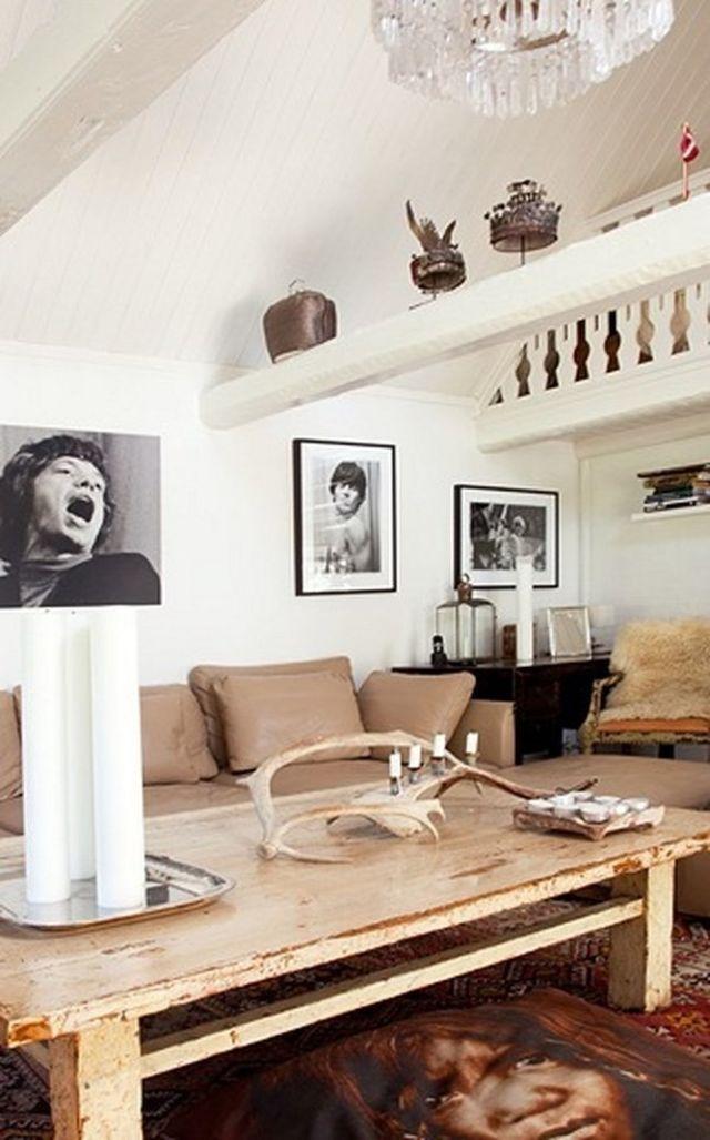 Une maison de vacances au style éclectique (via Bloglovin.com )