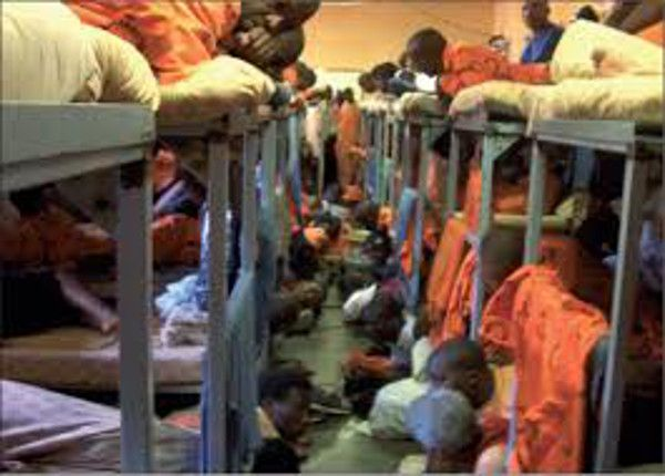 Prisons were better during apartheid than now