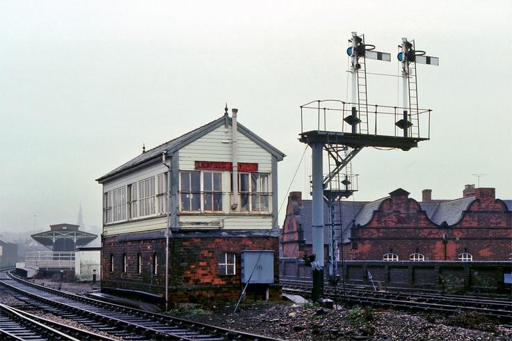 Lichfield City signal Box