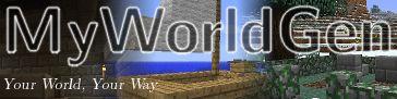 Download MyWorldGen Mod 1.13/1.12.2/1.11.2 - MyWorldGen makes it easy to add your own custom world-gen to your worlds....