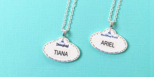 For many of us Disney Addicts, being a Cast Member is the dream job of a lifetime! Of course, we can't all become cast members, or even move to Orlando. In the mean time, I guess we'll have to use our imaginations with these fabulousPersonalized Disney Cast Member Name Tag Necklaces byToNeverNeverland. Be a part …