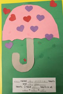 The Day It Rained Hearts Mrs. Lee's Kindergarten: Morning Centers this week & Weather Activities