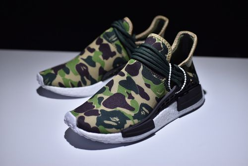 4d76f6026de0e Adidas Pharrell Williams Human Race NMD X Bape