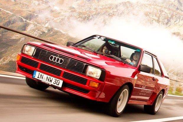 Legenden unterwegs: Audi sport quattro - Germanblogs.de