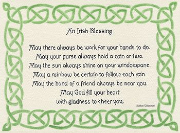 irish new years blessing product 4062 irish blessing posters for my wall pinterest irish blessing irish and blessed