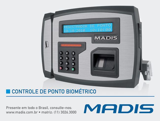 Num mundo globalizado onde cada vez mais o tempo e o trabalho se tornam aliados, a biometria chega para flexibilizar o controle de ponto, auxiliando departamentos de Recursos Humanos de todos os segmentos, independente do número de funcionários.