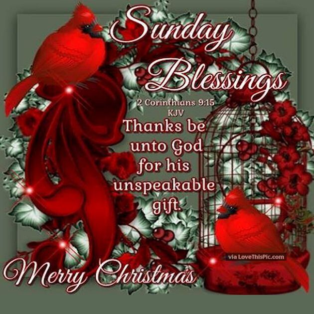 african american christmas blessing quote | Sunday Blessings Merry Christmas Quote Pictures, Photos ...