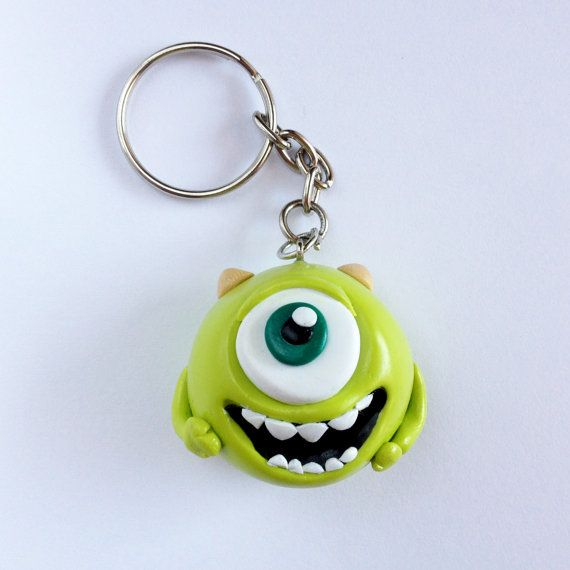 Mike Wazowski  Monsters University por PatriCuteThings en Etsy, €7.00