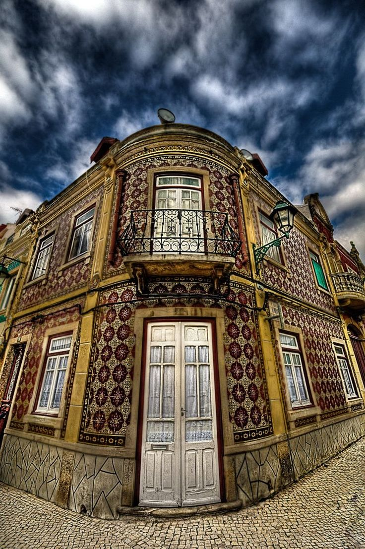 Front of a house in Alcochete - Portugal