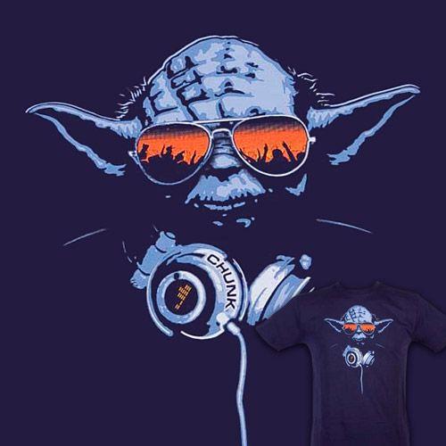 DJ Yoda by Chunk Clothing