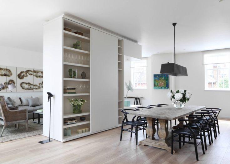 Die besten 25+ Halb offene küchengestaltung Ideen auf Pinterest - offene kuche wohnzimmer abtrennen