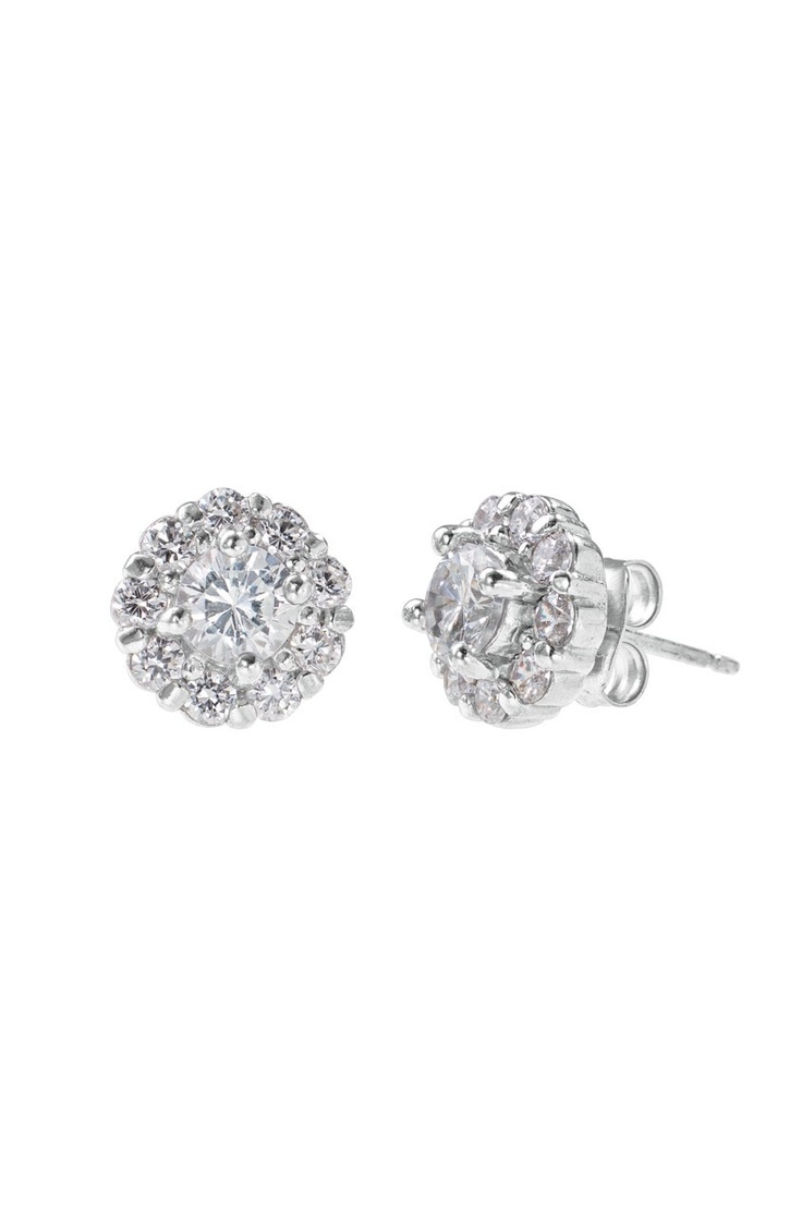 Glint Flower Cz Earrings By Stella & Dot