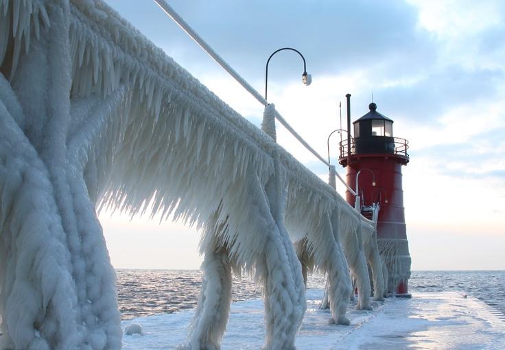 Michigan's Frozen Bridge