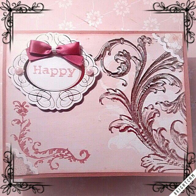 Ciaoooo!! Un biglietto elegante dai toni vintage! Che ne pensate?! Buon pomeriggio!! #madeforyoucreations #diy #gift #fashion #regalo #momentispeciali #happy  #happyday #bello  #scrapbooking  #handmade #specialmoments #felicità #happiness #nuovacreazione #newcreation #amico #friend #mamma #auguri #affetto #bestwishes #buoncompleanno #happybirthday #mom For more ideas and projects follow us on fb!! Per altre idee e progetti seguiteci su fb!!! https://m.facebook.com/MadeforUcreations