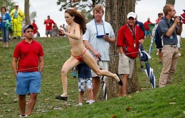 La espontánea que revolucionó la Presidents Cup de Golf - Yahoo Eurosport ES
