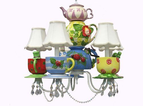 Louise Antoinette Designs Alice In Wonderland Chandelier By Http