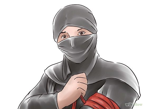 6 Ways to Make a Ninja Outfit - wikiHow