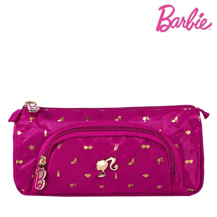 Estojo BARBIE coleção 2016 no maior site de bolsas femininas licenciadas, mochilas, carteiras e acessórios - Todamulher.com.br