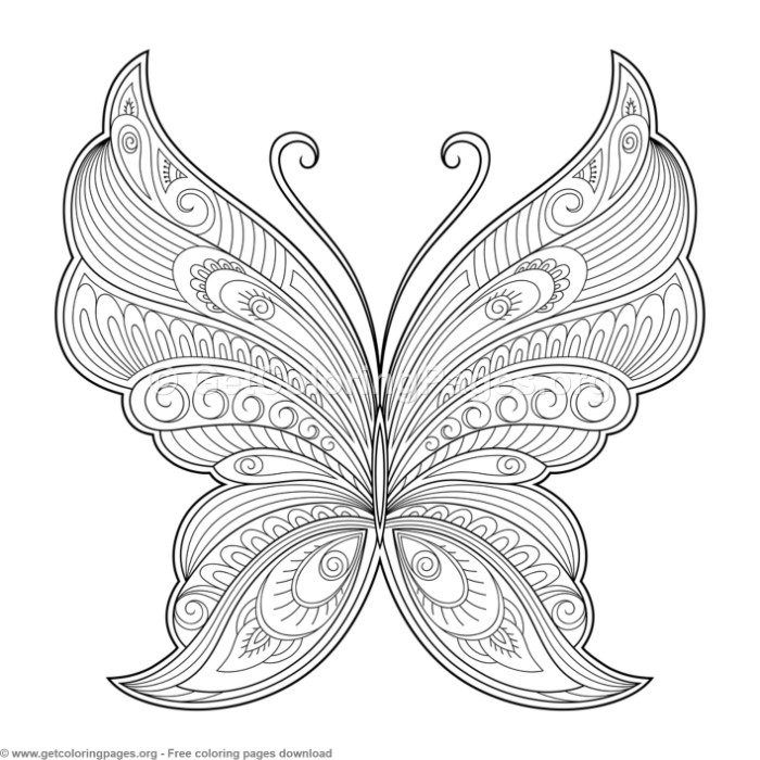 1 Zentangle Patterns Butterfly Coloring Pages Getcoloringpages Org Coloring Coloringbook Co Butterfly Coloring Page Mandala Coloring Pages Coloring Pages