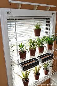 hanging plant shelves for windows – Google-Suche