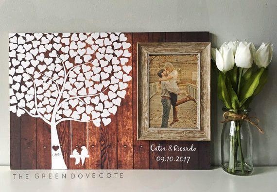 Hochzeit Gästebuch rustikale Hochzeit von TheGreenDovecote auf Etsy
