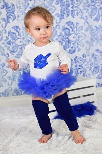 Happy Hannukah! My future daughter will have this outfit!!