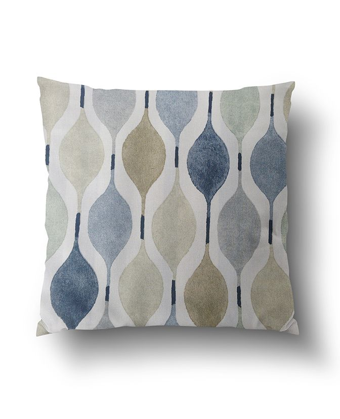Modern Geometric Pattern in Brown And Grey Cushion Covers