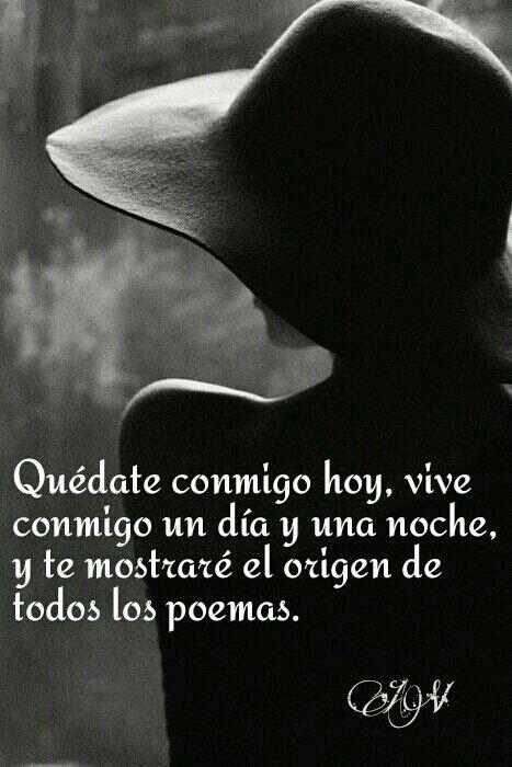 Walt Whitman. #frase #pensamiento #Quedateconmigo