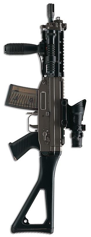 SIG SG552 - 5.56x45mm NATO Find our speedloader now!  http://www.amazon.com/shops/raeind