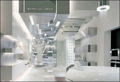 Futuristic laboratory google search sci fi reference for Future bathroom designs