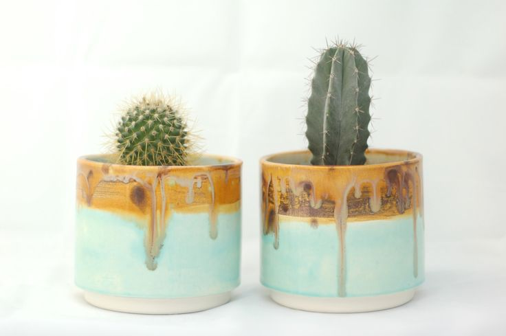 Tondo in ceramica Planter - Cactus - succulente Planter - fioriera a mano - deserto paesaggio colori - ceramica e ceramica di McCheeksMayhem su Etsy https://www.etsy.com/it/listing/224732658/tondo-in-ceramica-planter-cactus