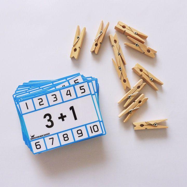 Klamerkowe Pomoce Dodawanie I Odejmowanie 2 9 And 10 10 Things Enamel Pins