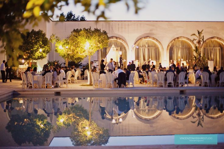Wedding reception in an Apulian Masseria by Michela & Michela www.italianweddingcompany.com