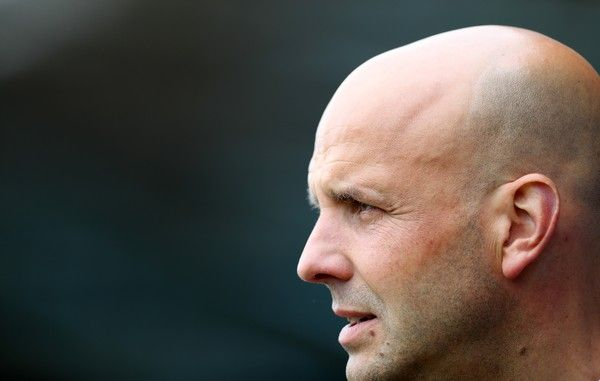 Paul Tisdale Photos Photos - Paul Tisdale manager of Exeter City during the Sky Bet League Two match between Doncaster Rovers and Exeter City at Keepmoat Stadium on April 29, 2017 in Doncaster, England. - Doncaster Rovers v Exeter City - Sky Bet League Two
