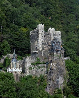 Rhine River Castle Rheinstein Photography at ArtistRising.com