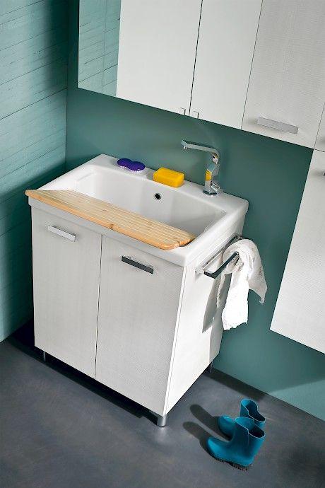 "L14 | Compab _ ""Jet"" washbasin for laundry."