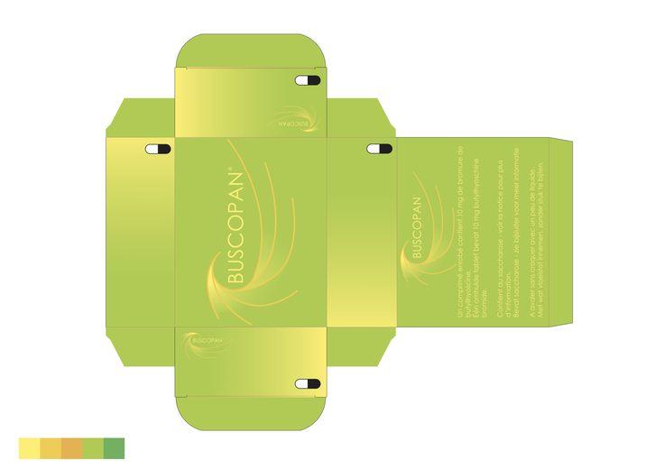 Concept: Verfrist ontwerp 5  Finaal ontwerp  Het grafische element stelt de werking van een tablet voor die wordt ingenomen en zijn goede stoffen aan het verspreid is in het lichaam en een beter/verfrist gevoel geeft. Door de kleuren die zijn gebruikt wordt het gevoel bij dit proces extra versterkt en zal de gebruiker zich gerust voelen bij het innemen van dit product.