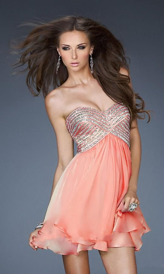 Best  best Prom Dresses images on Pinterest Dress prom Marriage and Dresses