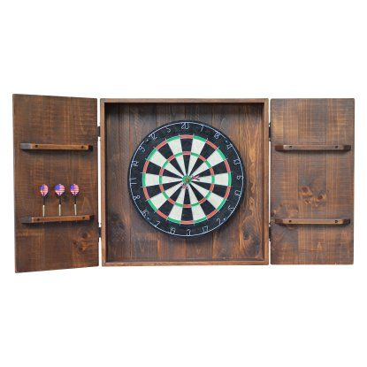 2 Day Designs Bristle Dart Board Cabinet   Dart Board Cabinets U0026 Backboards  At Hayneedle