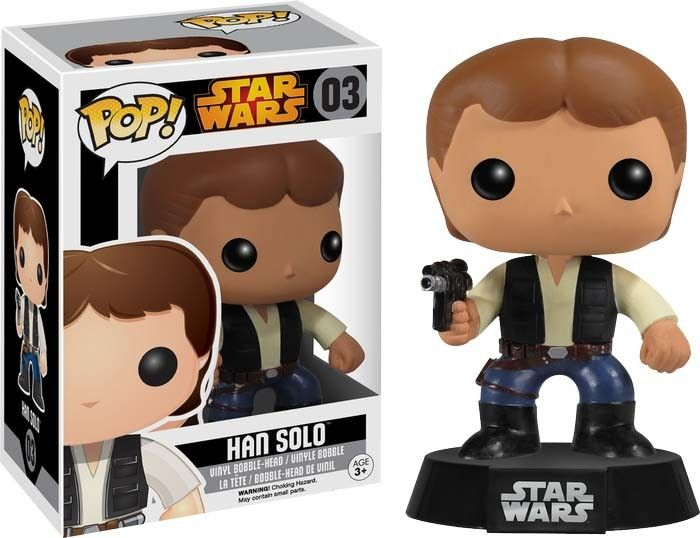 Pop! Vinyl Star Wars - Hans Solo Vaulted
