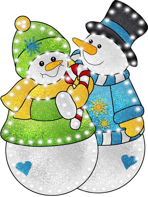 Хорошего, снеговики и снеговички картинки