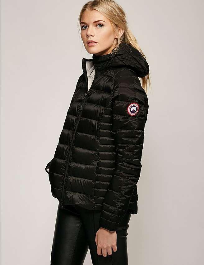black Canada Goose Brookvale Jacket
