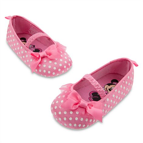 Minnie Mouse Costume Shoes for Baby - Pink | Dressing Baby | Disney Store