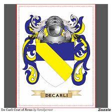 Resultado de imagem para brasão da familia De' Carli