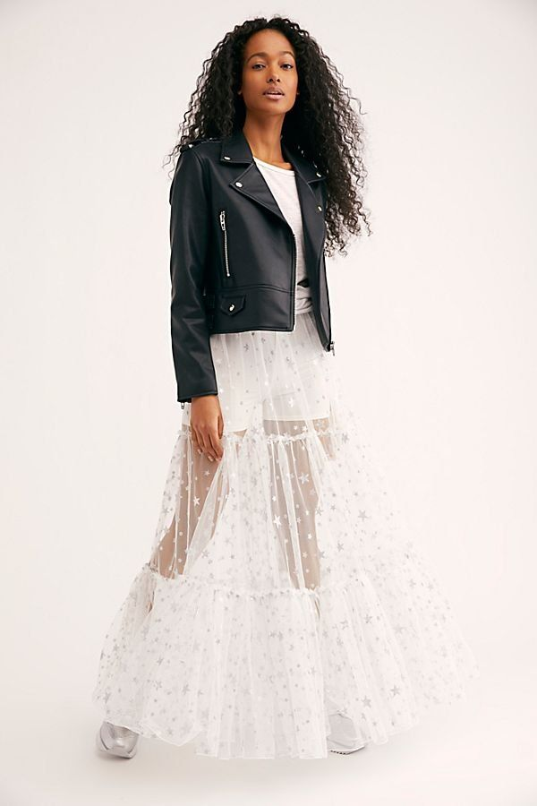 c8a35289535d New Way To Shine Skirt - Sheer White Maxi Skirt with Silver Stars - Sheer  Skirts - White Maxi Skirts - Star Skirts - Star Pattern Skirts - Party  Skirts ...