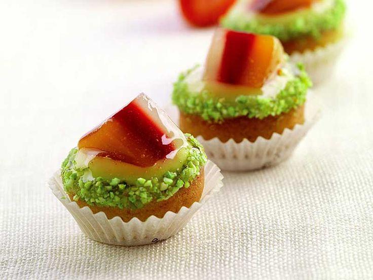 Tartellette alla gelatina di frutta di Montersino