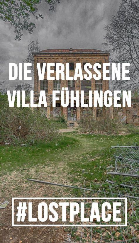 """Das Haus Fühlingen - eines der bekanntesten Lost Places Kölns! Das Haus Fühlingen ist auch als """"Villa Oppenheim"""" bekannt und es ranken sich einige Gruselgeschichten um dieses Haus. Ein Richter der Selbstmord begangen hat, Geister und vieles mehr!"""